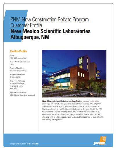 New Mexico Scientific Laboratories Case Study