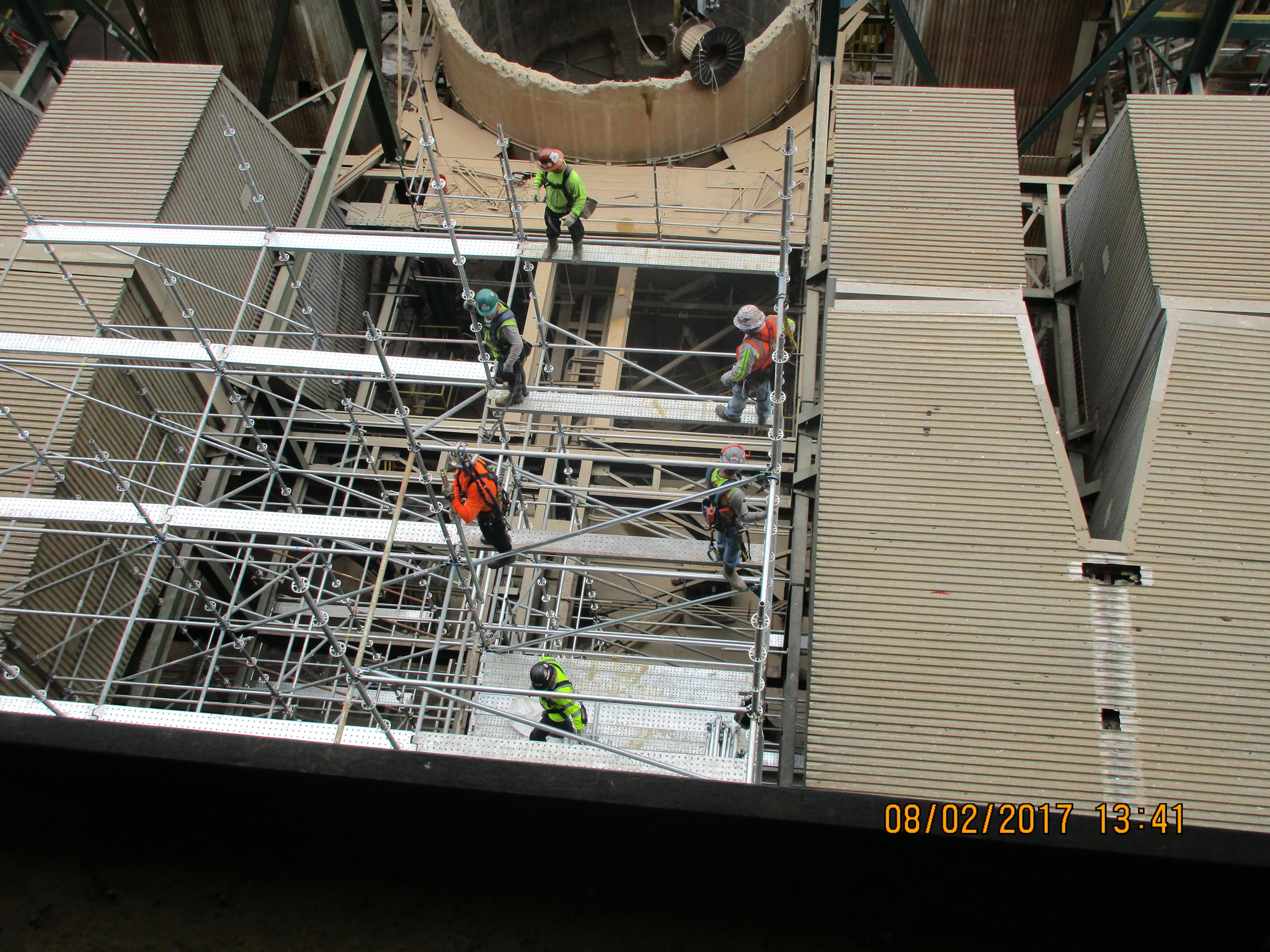 GC Industrial Plant Scaffold 5