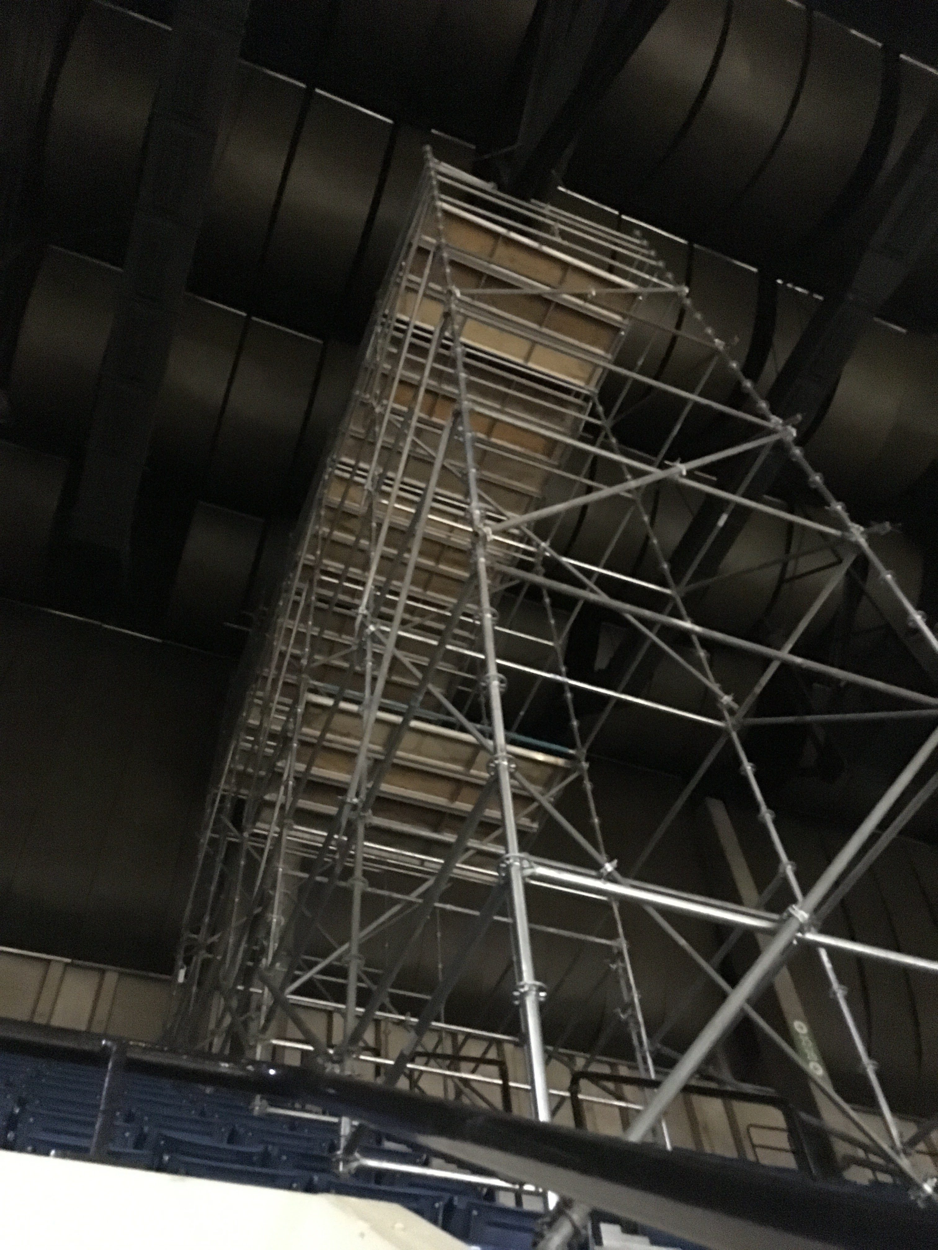 BJCC scaffold tower 1