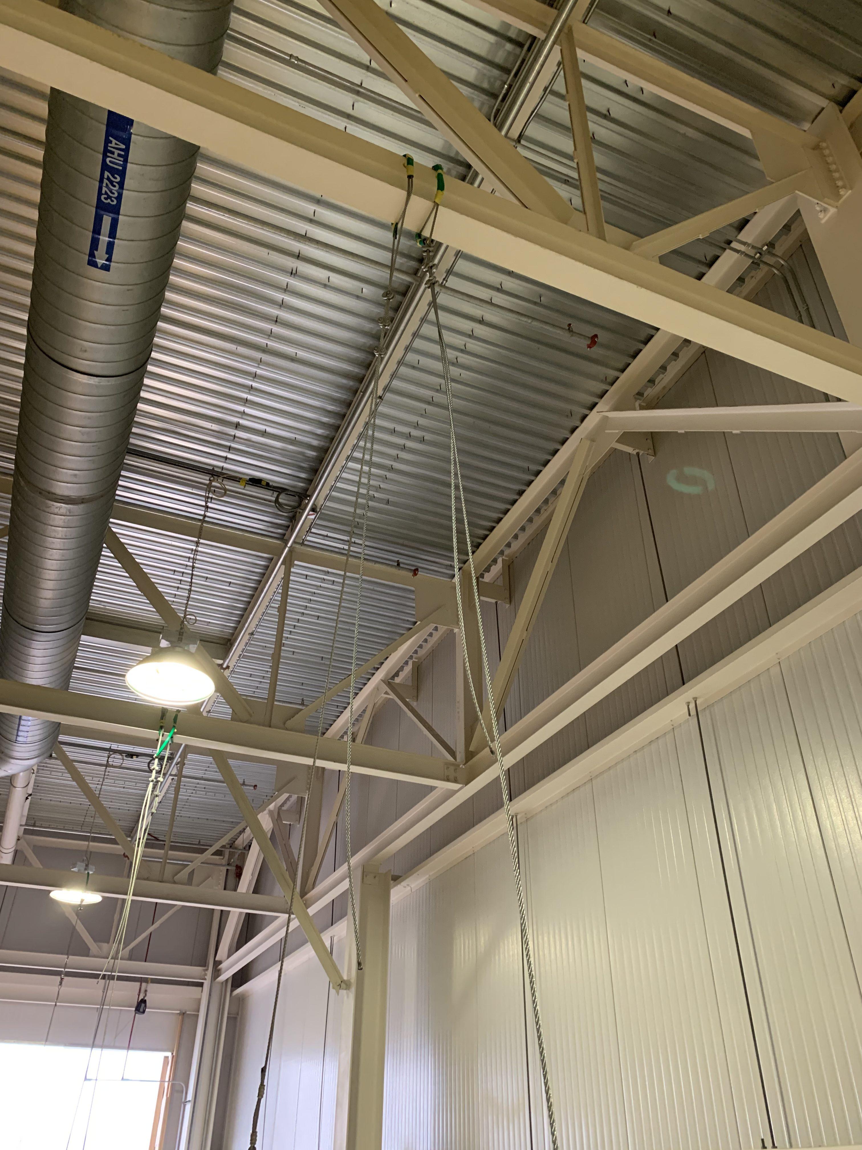 New Mezzanine in Industrial Plant scaffold 12