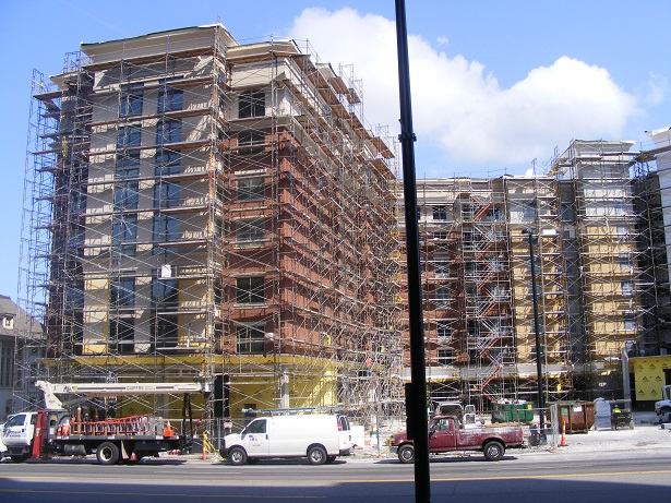 Nashville frame and brace scaffold