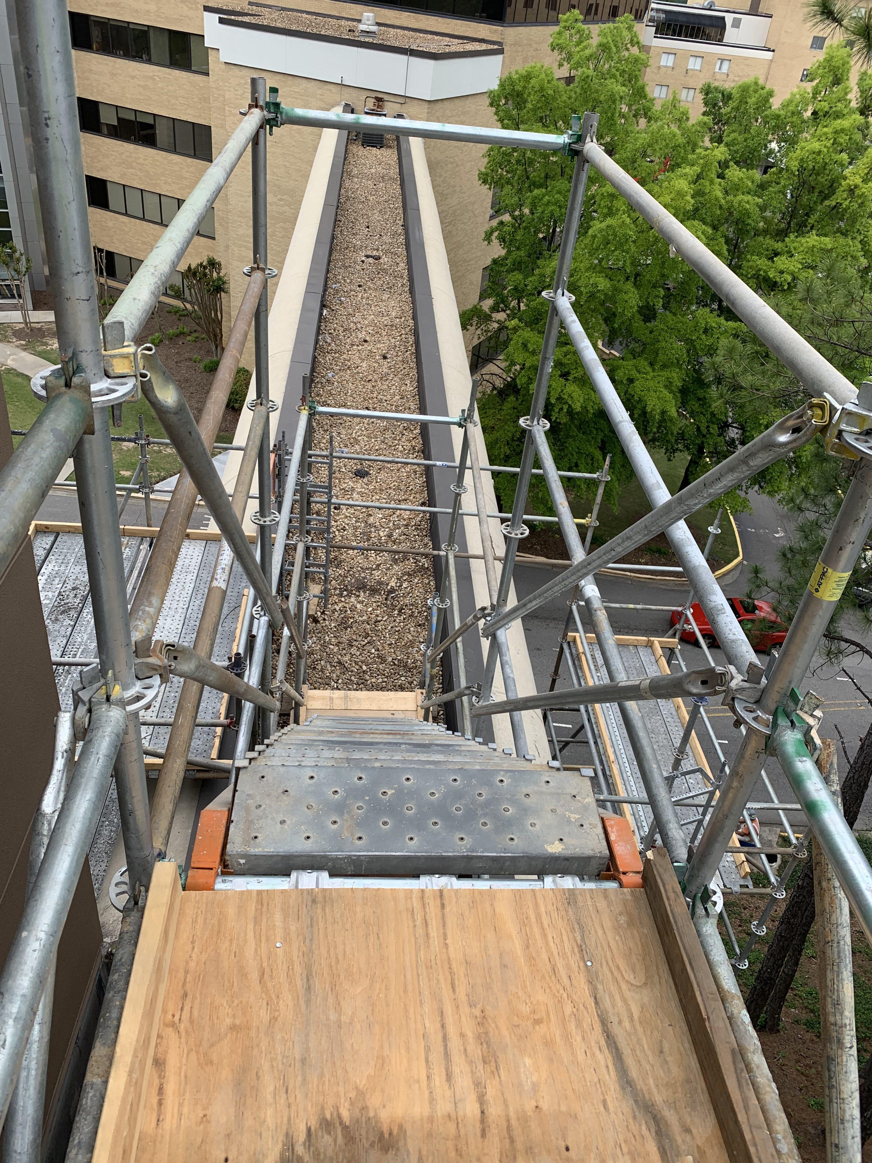 Brookwood Hospital scaffold 10