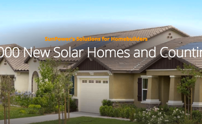 Top California Home Builders Aim For Net Zero Energy Goal