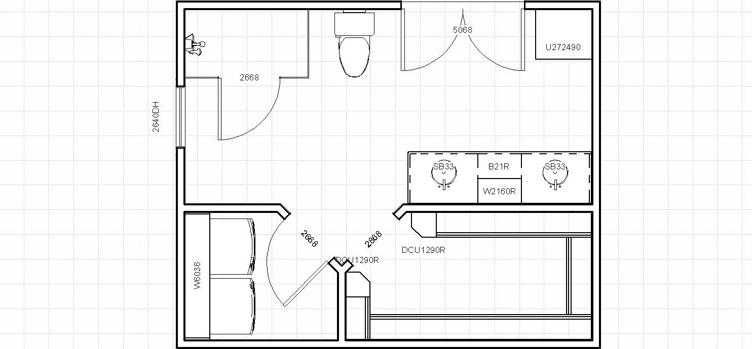 Does Anyone Have Any Ideas For This Master Bath Layout? I