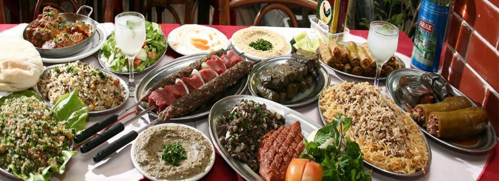 Os maravilhosos pratos da Culinária Árabe