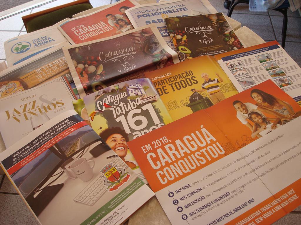 Prefeitura desrespeita Lei das Publicações