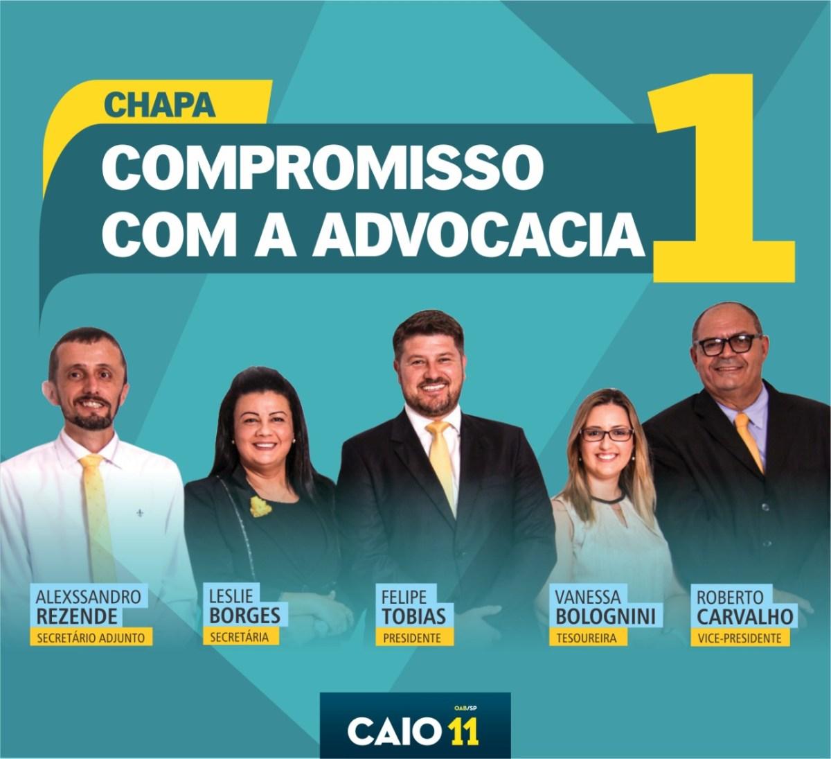 Eleição na OAB de Caraguá tem 2 chapas
