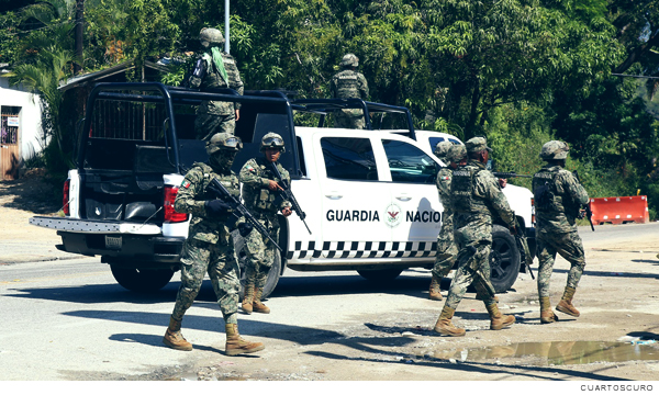 elementos de la guardia nacional