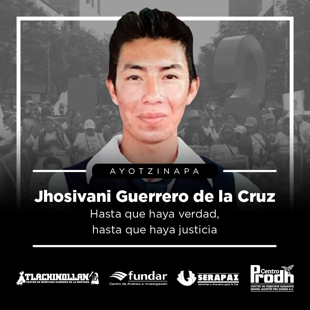 identificación de un fragmento óseo de Jhosivani Guerrero de la Cruz en la Barranca La Carnicería