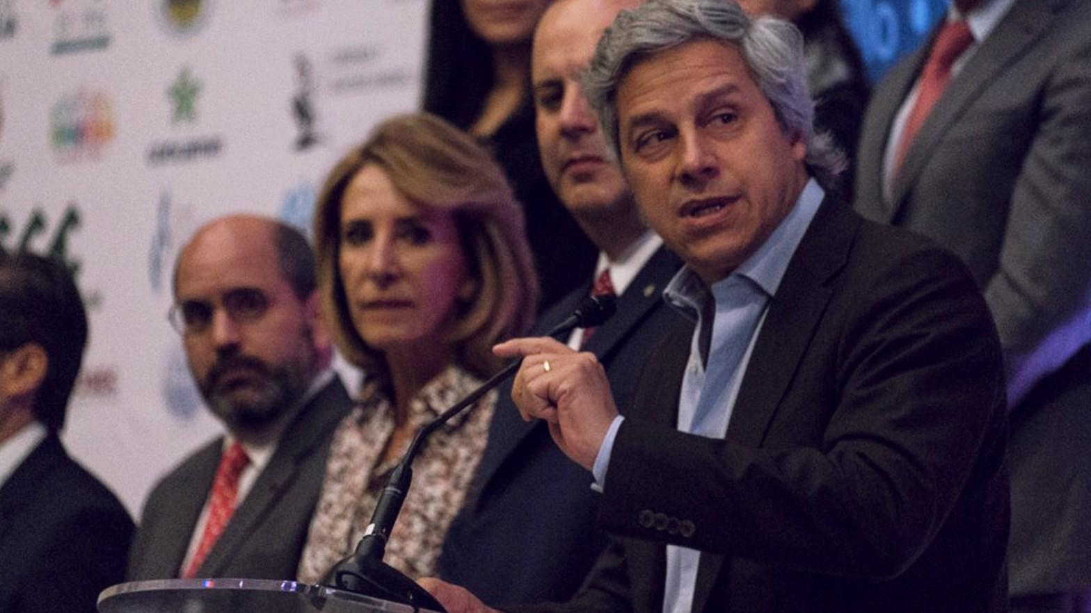 empresarios de México, al frente Claudio X Gonzales
