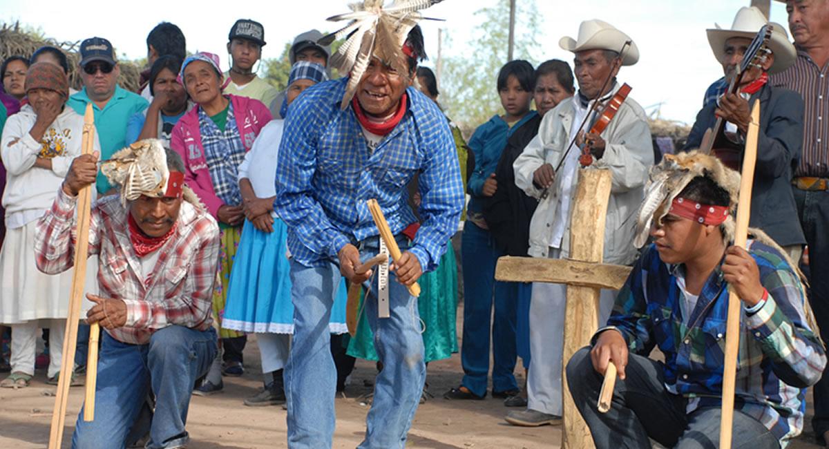 indígenas del territorio Yaqui