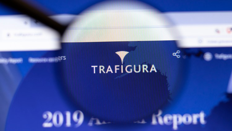 Imagen de la pagina web de la empresa Trafigura
