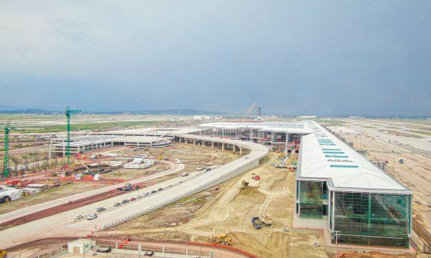 Construcción del Aeropuerto Internacional Felipe Ángeles (AIFA)
