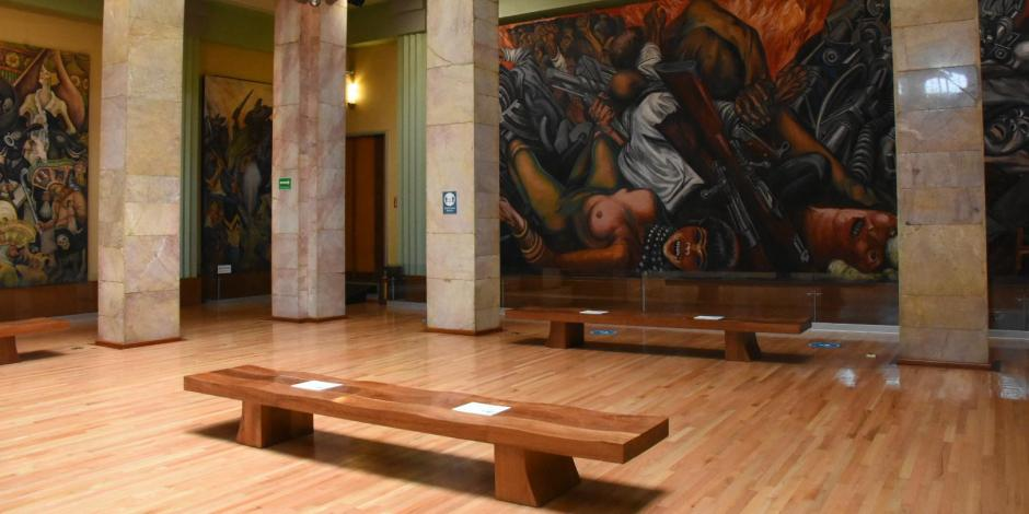 imagen de una sala del Museo del Palacio de Bellas Artes