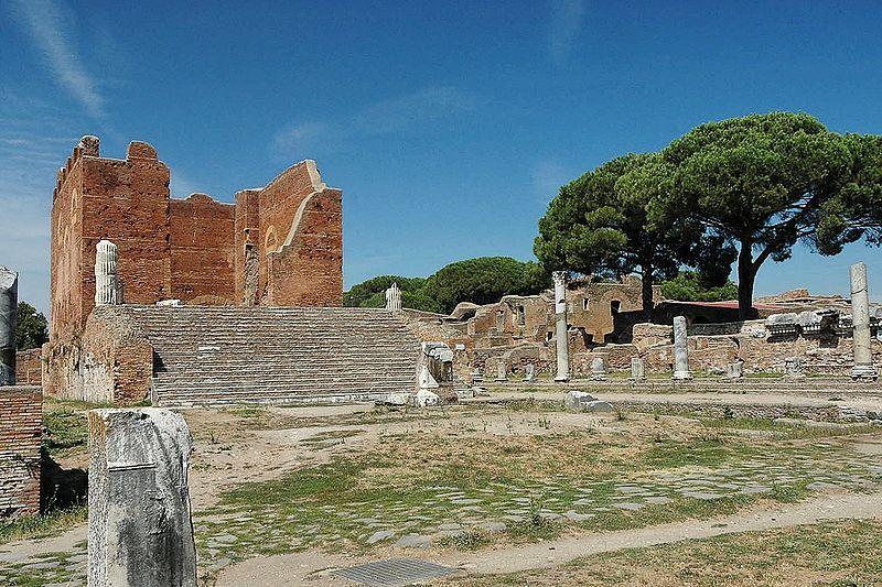 Capitolium, Ostia Antica - Roma