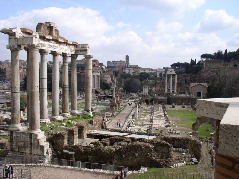 Forum Romano, Monte Palatino - Roma
