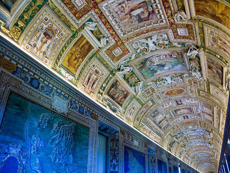 Galeria dos Mapas, Museus do Vaticano - Roma