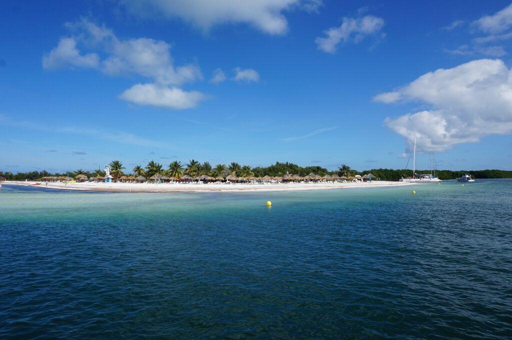 Chegada ao paraíso - Cayo Blanco