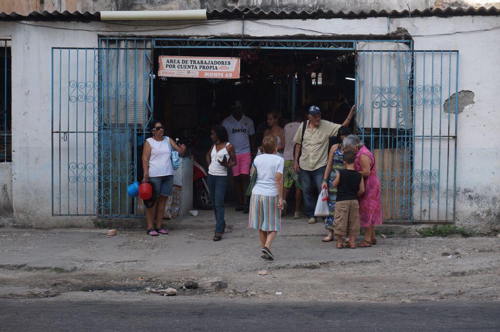 Area de Trabajadores por Cuenta Propia - Havana