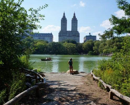 Central Park Nova Iorque Lago
