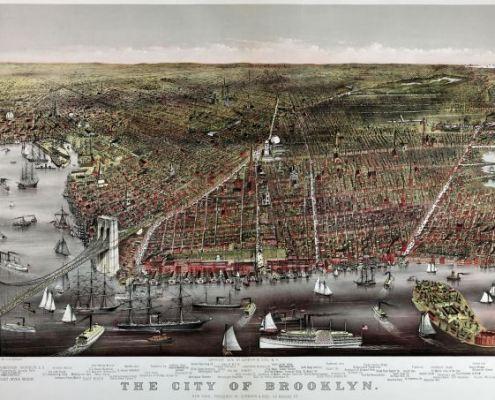 brooklyn mapa