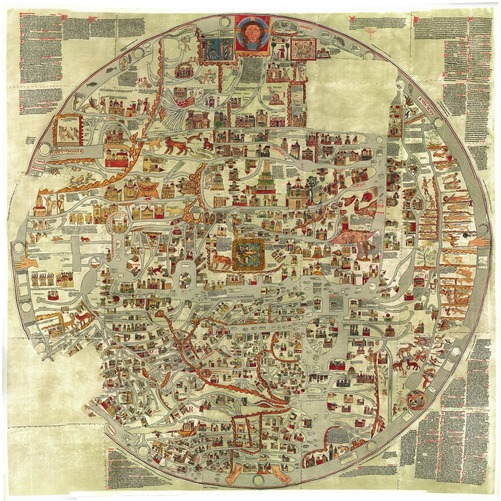 Mapa de Roma século XVIII