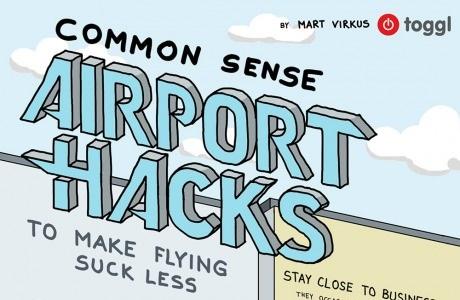 Dicas de aeroporto... até o avião descolar!