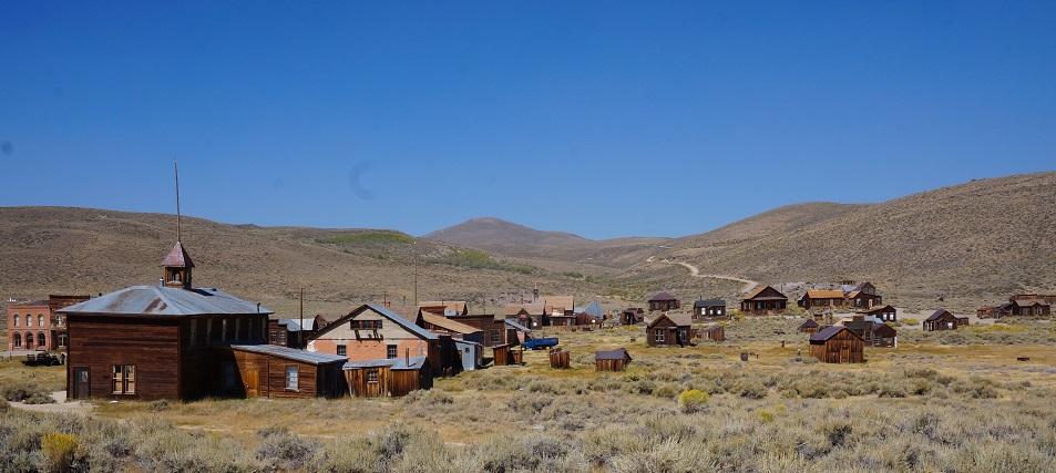 bodie cidade fantasma na califórnia