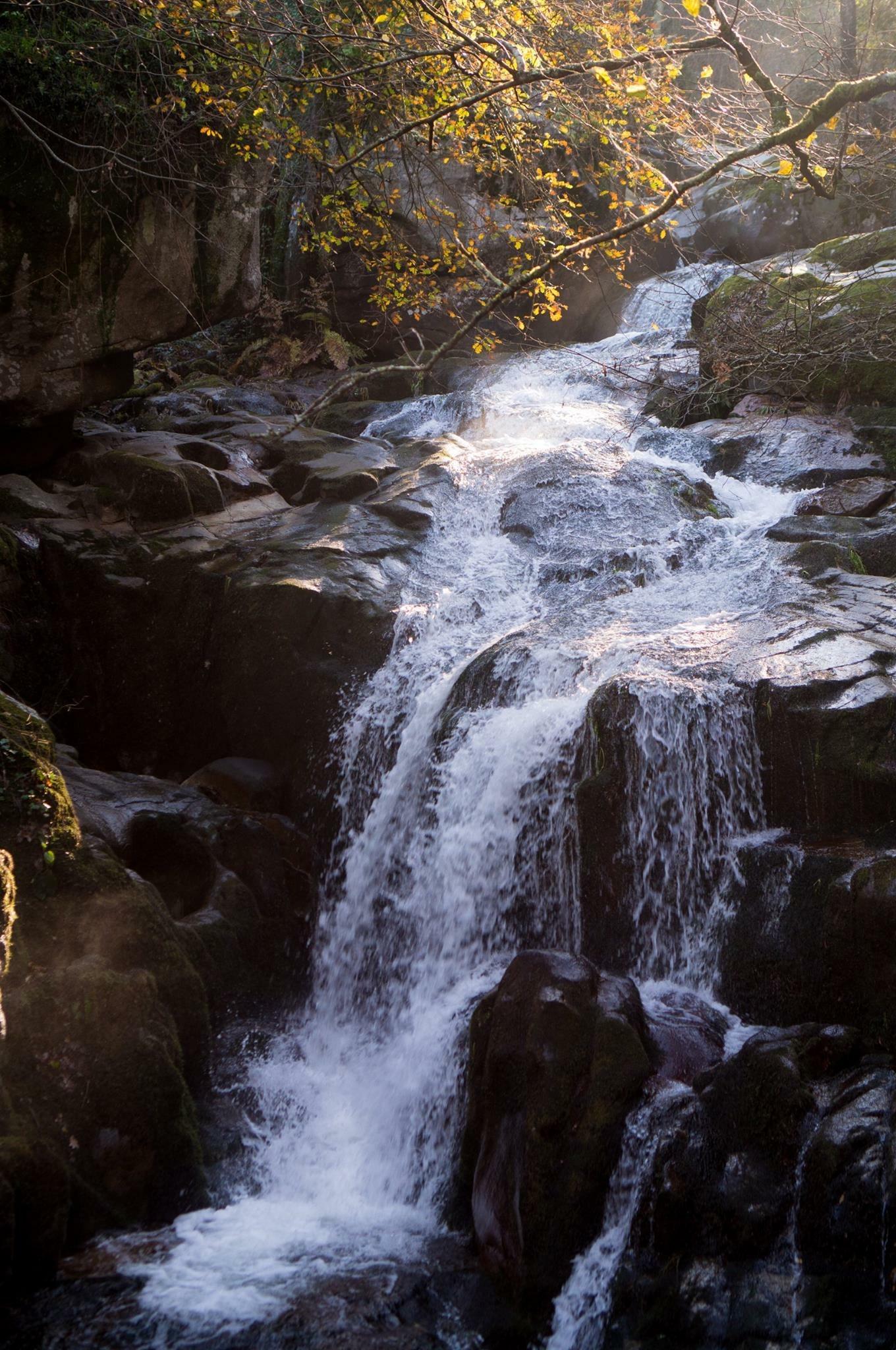 cascata da ribeira de sampaio