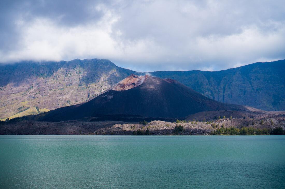 vulcão rinjani
