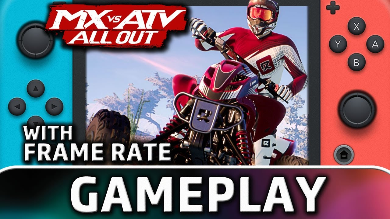 MX vs ATV All Out | Nintendo Switch Gameplay and Frame Rate