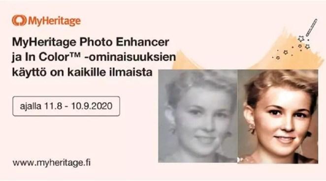 Restaura fotos con MyHeritage contrapc