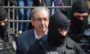 Eduardo Cunha será transferido para o Rio
