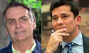 Bolsonaro diz que confia em Moro, mas não 100%