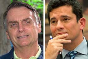 Moro e Bolsonaro se reúnem fora da agenda após ação da PF