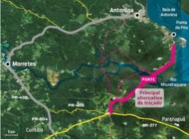 STJ proíbe construção de rodovia que ligaria Antonina e BR-277