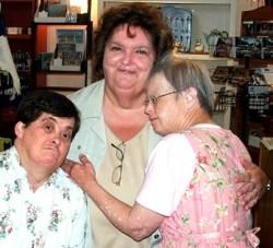 Cathy Brady, Rita MacNeil, and Janet Moore