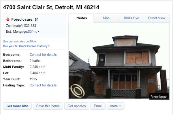 Detroit House for sale