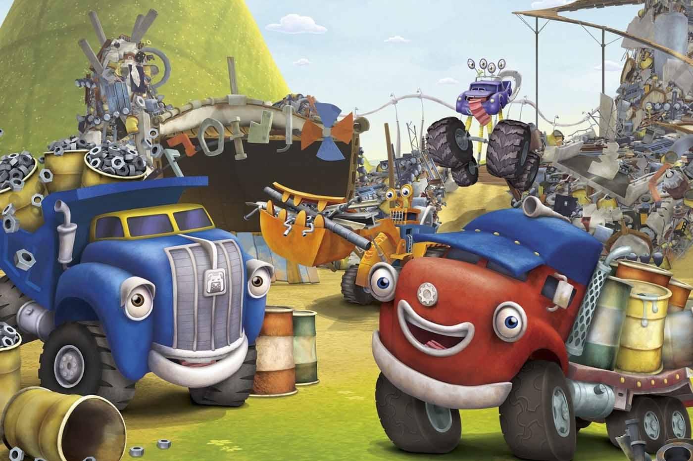 Critica TruckTown animación