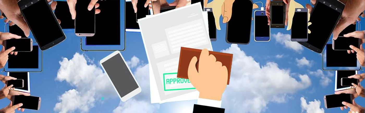 Contrato para el móvil