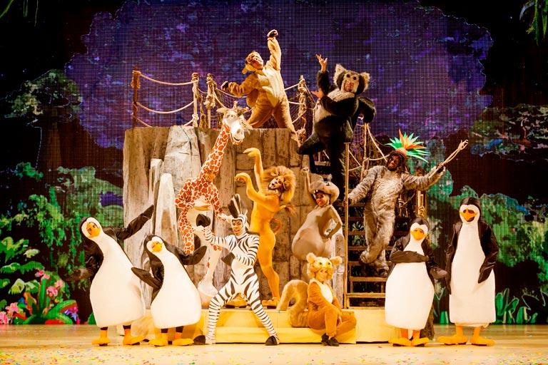 Crítica Madagascar, el musical ya en el teatro