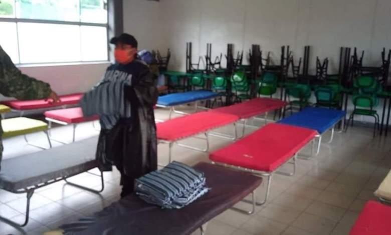 Photo of Diluvio de dos días en costas tabasqueñas; resguardan en albergues a habitantes