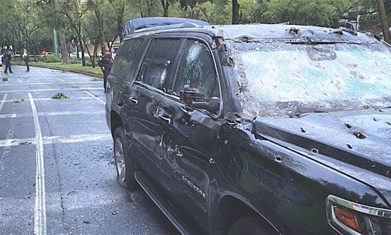 Photo of Más de 400 balas por minuto en el atentado a jefe policial de la CDMX