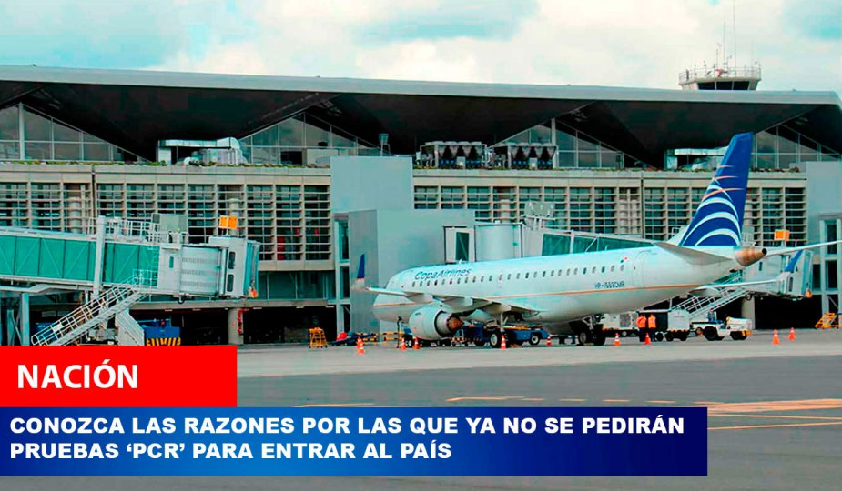 pruebas pcr aeropuertos