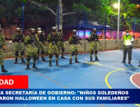 reporte soledad hallowen
