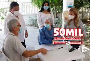 50 mil segundas dosis