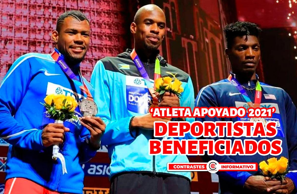 atletas beneficiados