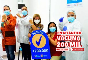 200 mil vacunas
