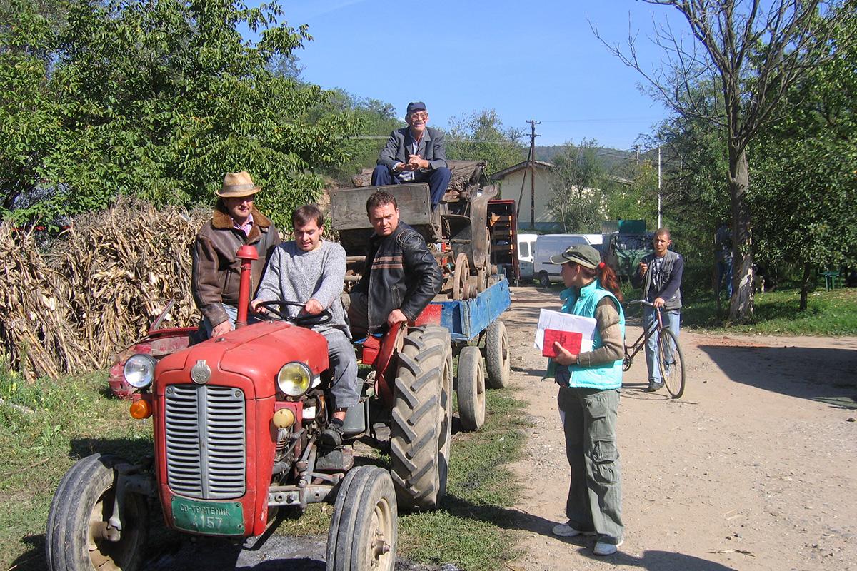 Selo Gori a Baba se Češlja