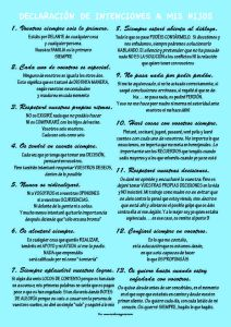 Declaración de intenciones, manifiesto, hijos